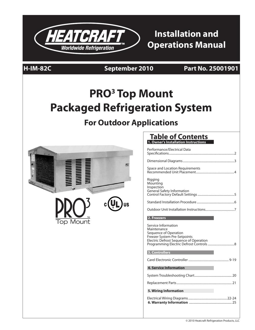 medium resolution of heatcraft refrigeration products h im 82c user s manual