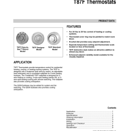 honeywell thermostat t87f user s manual manualzz com honeywell th5220d1003 wiring diagram t87f honeywell 2wire diagram [ 791 x 1024 Pixel ]