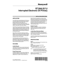 honeywell r7184p user s manual [ 791 x 1024 Pixel ]