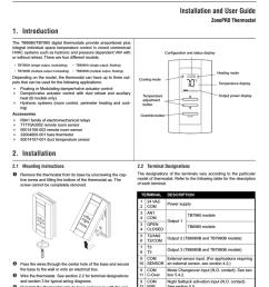 honeywell zonepro tb6980 user s manual [ 791 x 1024 Pixel ]