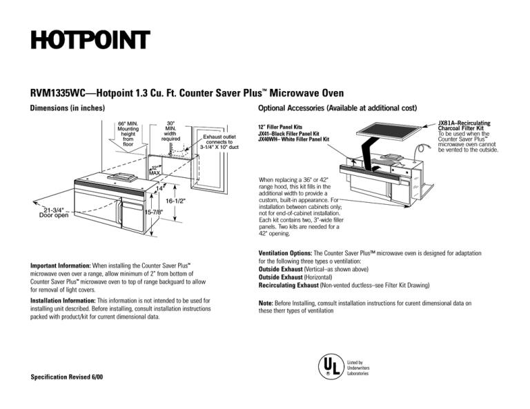hotpoint rvm1335wc user manual manualzz