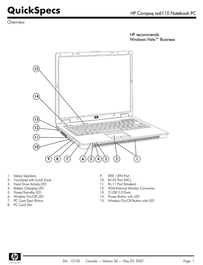 [View 30+] Hp Compaq Nc6220 Schematic Diagram Free Download