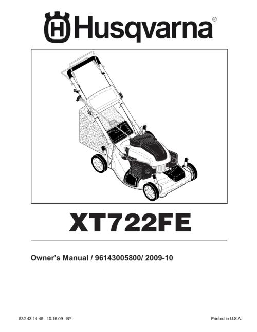 small resolution of husqvarna xt722fe user s manual manualzz com rh manualzz com