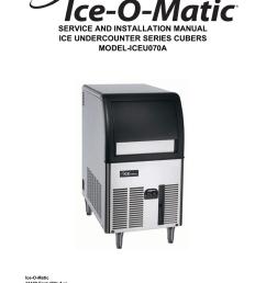 ice o matic iceu070a user s manual [ 791 x 1024 Pixel ]