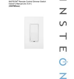 insteon 2476d user s manual [ 791 x 1024 Pixel ]