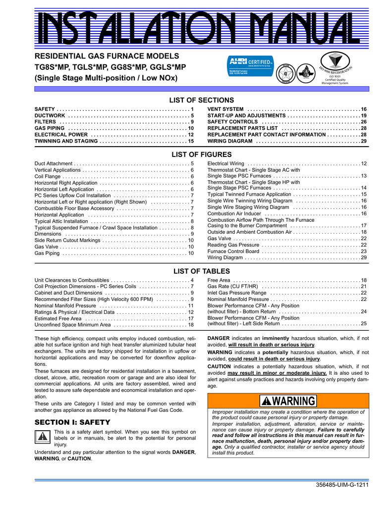 medium resolution of johnson controls gg8s mp user s manual