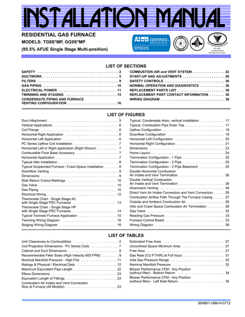 small resolution of johnson controls gg9s mp user s manual