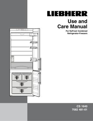 Liebherr Refrigerator Repair Manual  Image Refrigerator