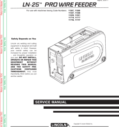 lincoln electric ln 25 svm179 b user s manual [ 791 x 1024 Pixel ]