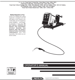 lincoln electric im584 d user s manual [ 791 x 1024 Pixel ]