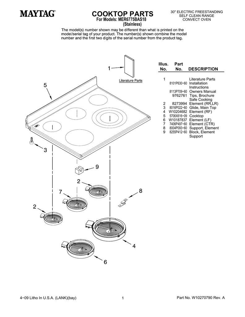 medium resolution of maytag mer6775bas18 user s manual