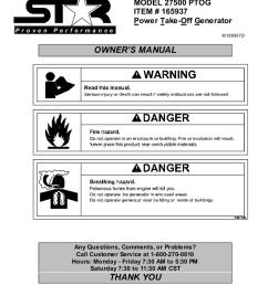 north star 27500 user s manual [ 791 x 1024 Pixel ]