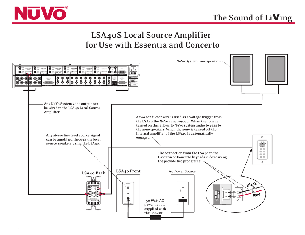 hight resolution of nuvo lsa40 user s manual