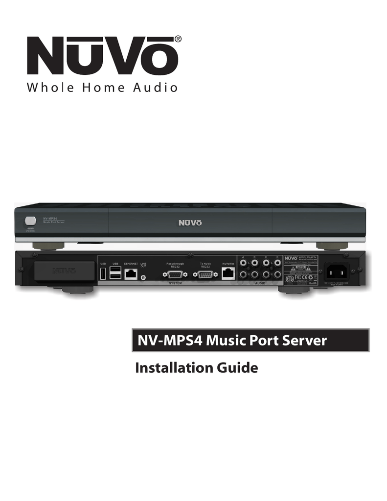 medium resolution of nuvo nv mps4 user s manual