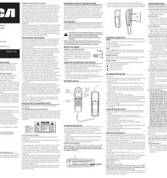 rca 1103 1bkga user s guide [ 1024 x 857 Pixel ]
