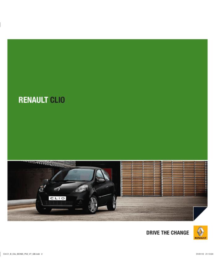 Renault 2012 Clio User Manual Manualzz