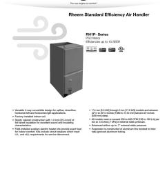 rheem rh1p specification sheet [ 791 x 1024 Pixel ]