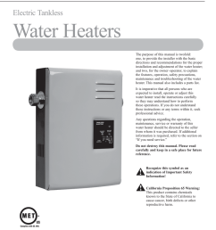 rheem tankless electric rte 27 use care manual [ 791 x 1024 Pixel ]