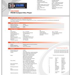 diagram on sony sony cdx f5500 marketing specifications manualzz com on sony m 610 wiring harness  [ 791 x 1024 Pixel ]