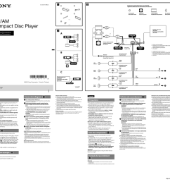sony cdx gt57up installation connections manual [ 1024 x 969 Pixel ]