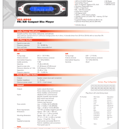 sony cdx mp40 product guide [ 791 x 1024 Pixel ]