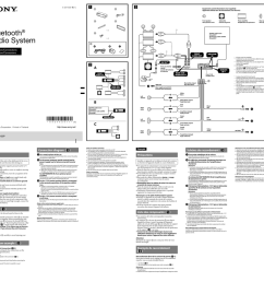 sony mex bt3100p installation connections manual [ 1024 x 969 Pixel ]