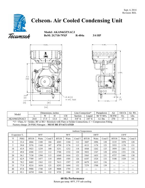 small resolution of tecumseh aka9463znacj performance data sheet