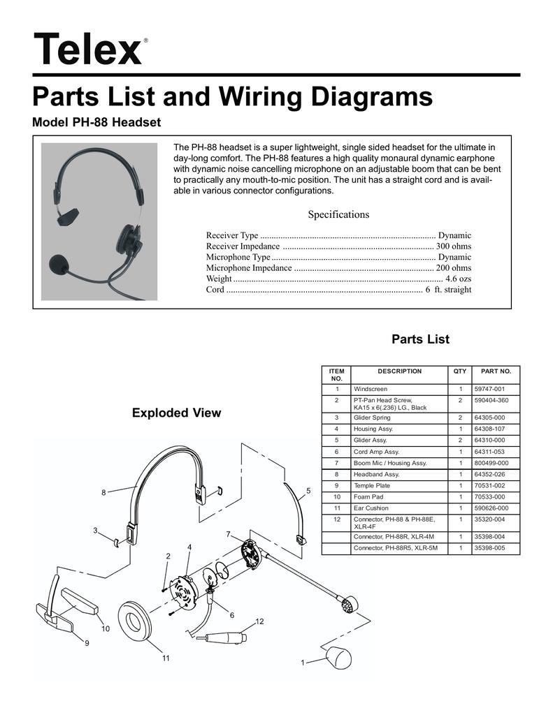 hight resolution of telex turner road king 56 wiring diagram explained wiring diagrams source telex rk56 wiring diagram
