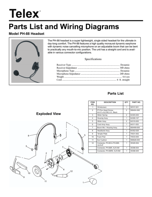 small resolution of telex turner road king 56 wiring diagram explained wiring diagrams source telex rk56 wiring diagram