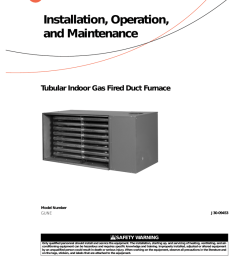 trane gas unit heaters installation and maintenance manual [ 791 x 1024 Pixel ]