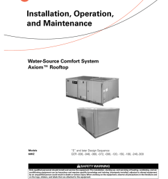 trane rooftop wshp installation and maintenance manual [ 791 x 1024 Pixel ]
