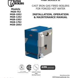 utica boilers mgb series ii mgc series operation and installation manual [ 791 x 1024 Pixel ]
