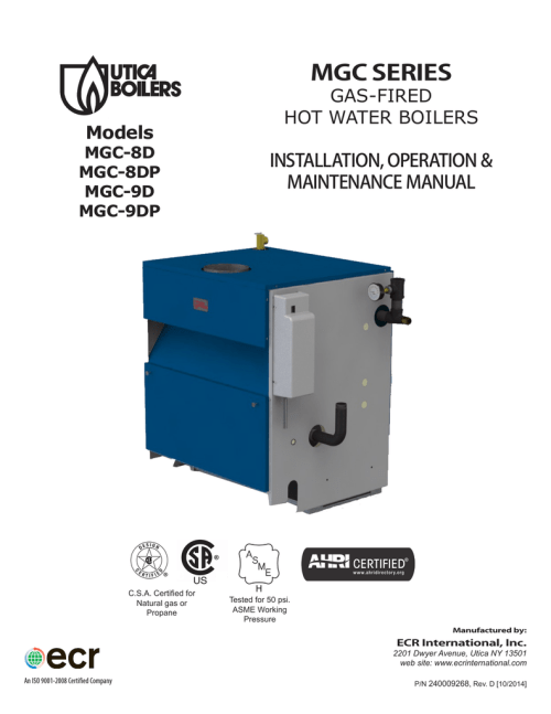 small resolution of utica boilers mgb series ii mgc series operation and installation manual