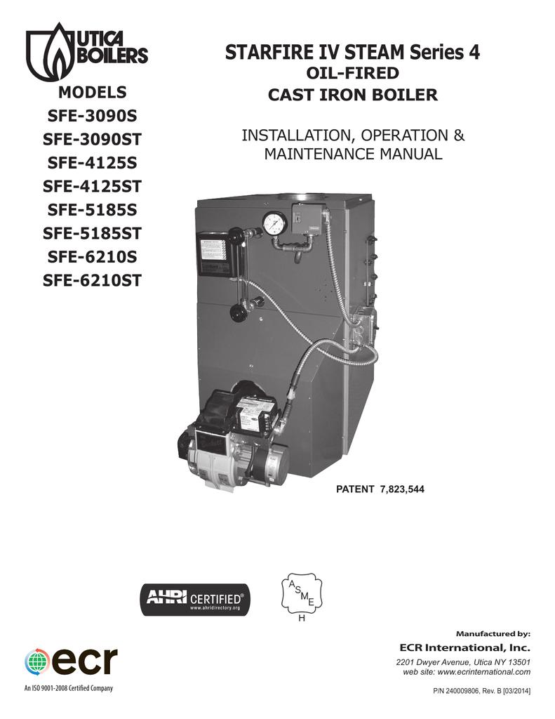 medium resolution of utica boilers sfe iv steam operation and installation manual