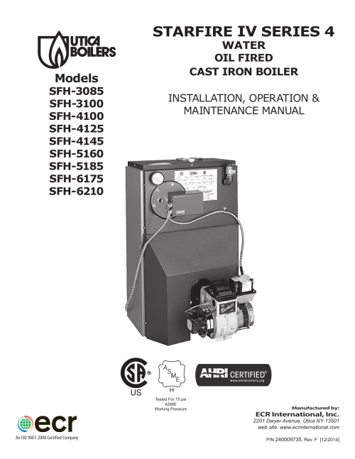small resolution of utica boilers sfh w iv operation and installation manual
