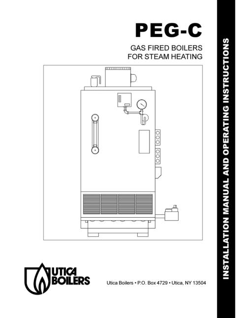 small resolution of utica peg c user s manual