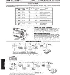 white rodgers 1f82 261 wiring and configuration manualzz com white rodgers thermostat wiring diagram 1f82  [ 803 x 1024 Pixel ]