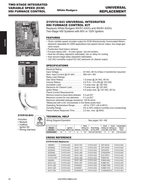 small resolution of white rodgers 21v51u 843 catalog page