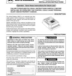 white rodgers 50e47 user s manual [ 791 x 1024 Pixel ]