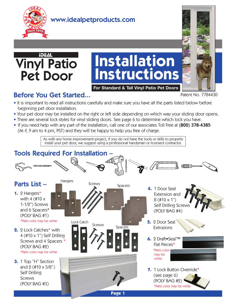 ideal pet 80vppxlw installation guide