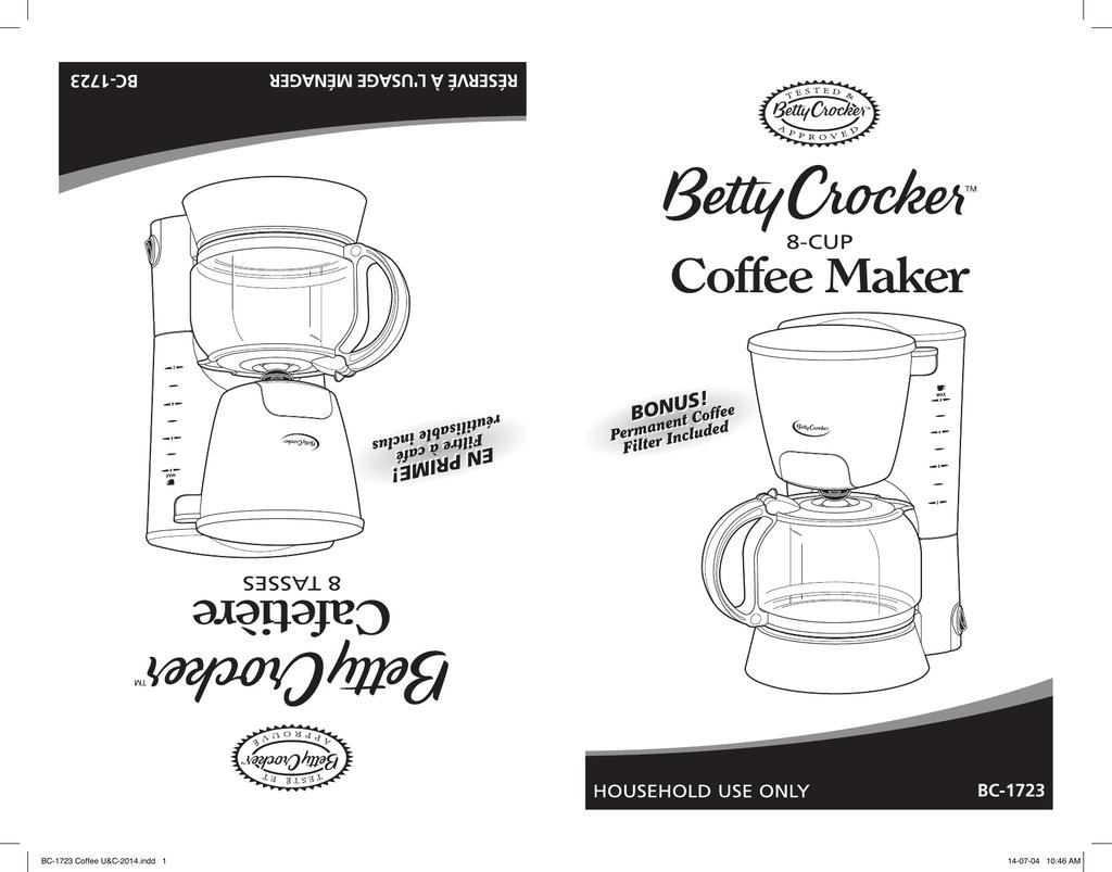 Betty Crocker Toaster Oven Manual