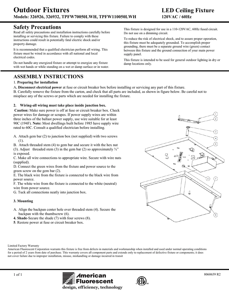 medium resolution of aspects tpfw70050lwh installation guide