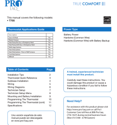 none t705 instructions assembly manualzz com pro1 thermostat wiring diagram [ 791 x 1024 Pixel ]