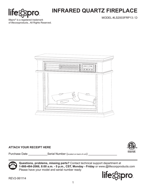 small resolution of lifesmart l 1000 infrared heater wiring diagram