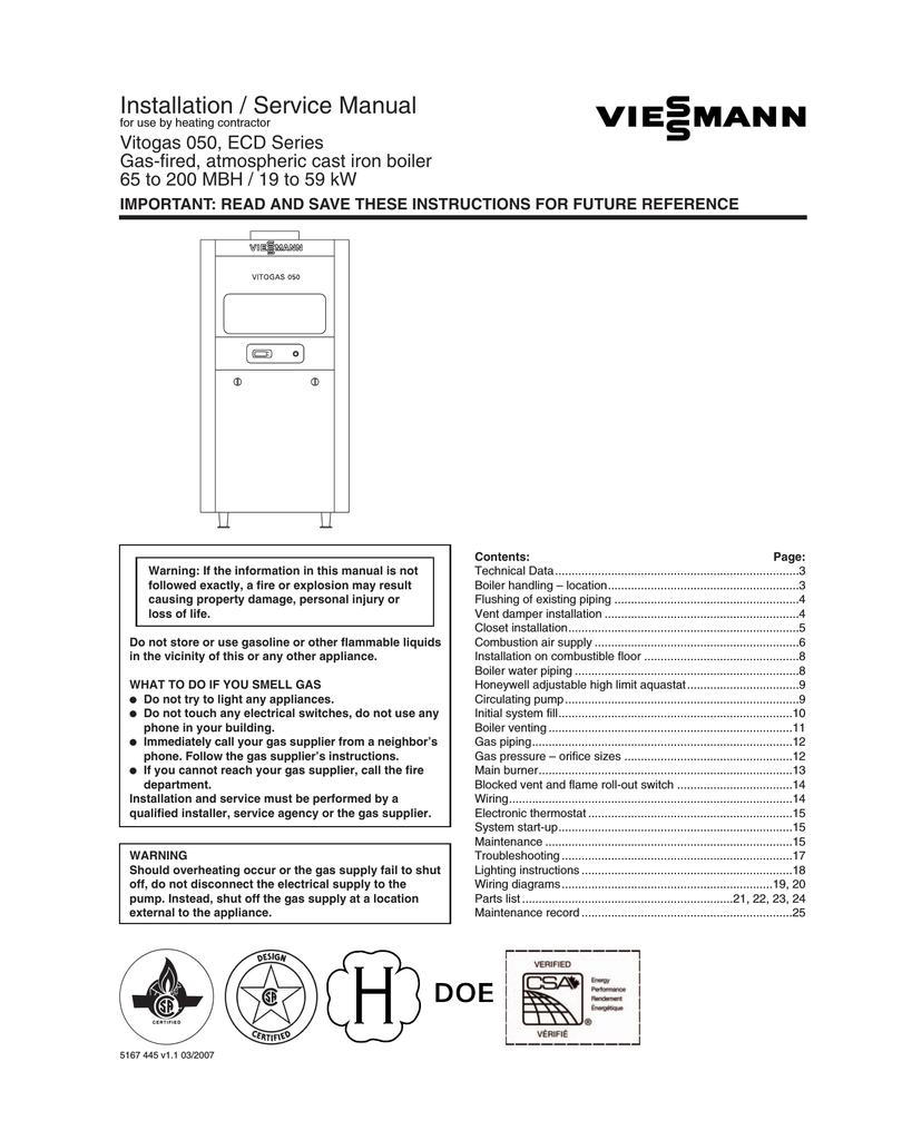 medium resolution of installation service manual