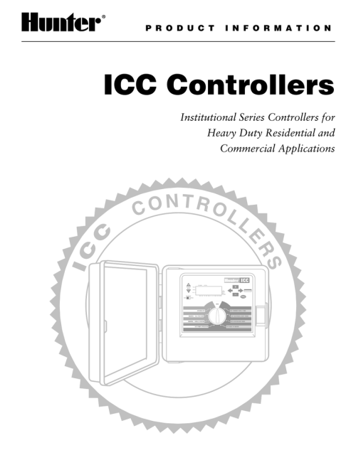 small resolution of hunter icc controller troubleshooting guide and