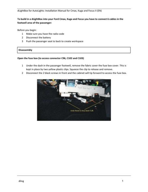 small resolution of installation manual
