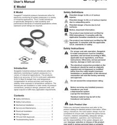industrial pressure transducers user manual e model ms [ 791 x 1024 Pixel ]