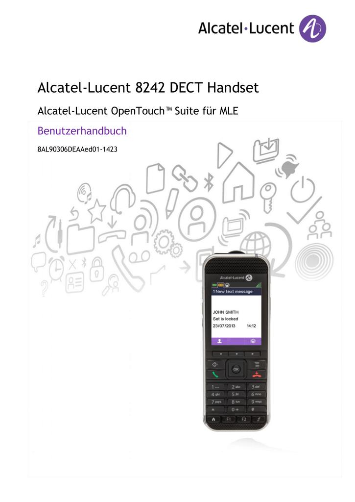 Alcatel Lucent Bedienungsanleitung Rufumleitung