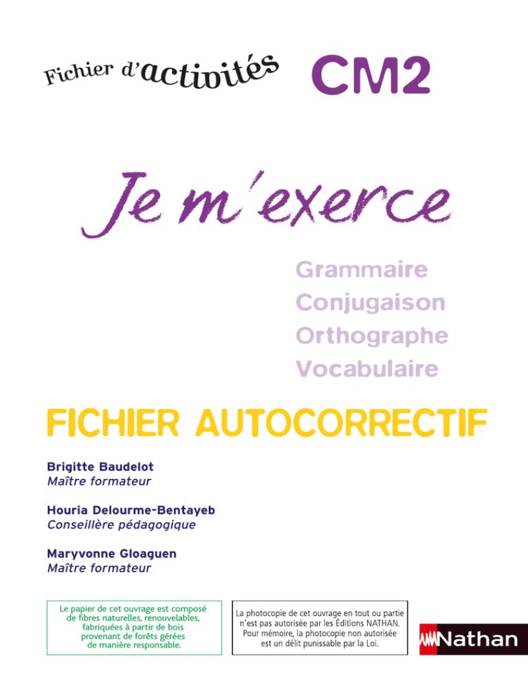 Content Que ça T'ai Plu Orthographe : content, orthographe, M`exerce, Fichier, Autocorrectif, Manualzz